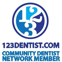 Proud member of 123 Dentist