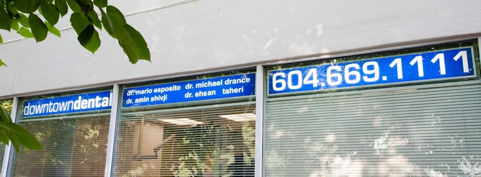 Downtown Dental Signage