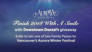 Enter to win one of two (2) family passes to Vancouver's Aurora Winter Festival.